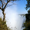 Victoria Falls from ground level (Zambian side)