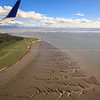 the mudflats of Anchorage