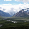 15 mph turn east of Polychrome - bus broke down.  Denali Nat'l Park, 07/18/2014. First day into the park.