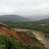 Polychrome Overlook, Denali Nat'l Park, 07/18/2014. First day into the park.