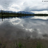 Small Pond on Denali Hwy near Cantwell, 07/16/2014.