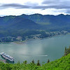 Juneau, Alaska from Mt. Roberts