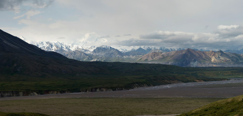 Eielson View (6 Photo Panorama)