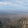 View of Albuquerque from Sandia Peak