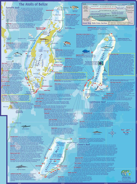 Belize_Atolls_Dive_Mapsm - Our trip highlights