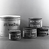 Flour canister and coffee cans