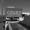 Cottonwood Court sign