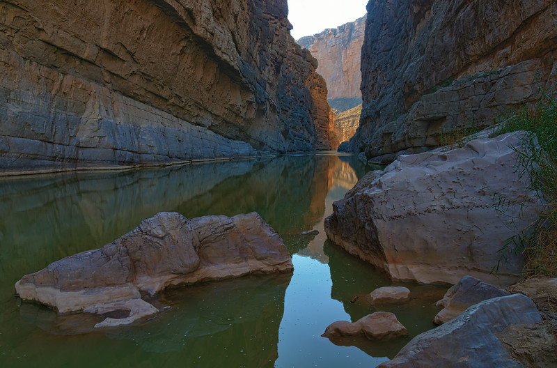 Upstream in Santa Elena Canyon