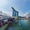 Sands Hotel, Helix Bridge and the Art Science Museum, Singapore (2011)