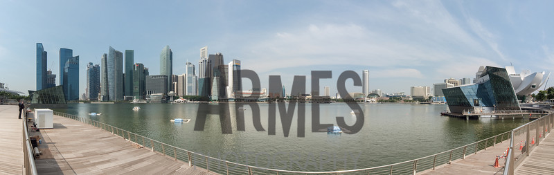 2011 Panorama of Marina Bay, Singapore