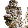 Stone Temple Guardian On Bali