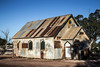 The corrugated iron church built for the movie Goddess of 1967, Lightning Ridge