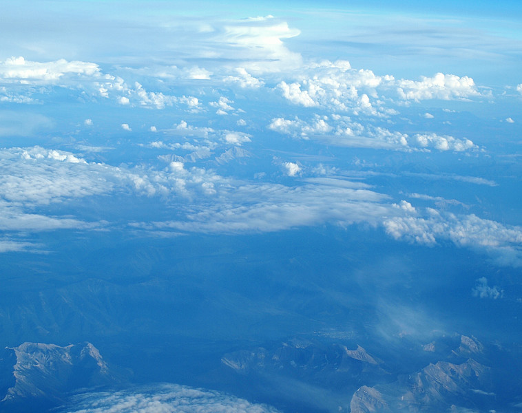 Clouds Above, Mountains Below