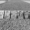 """Photos of Soviet prisoners taken shortly before their execution at the site of the """"infirmary"""""""