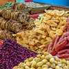 Dried Fruits on a Market