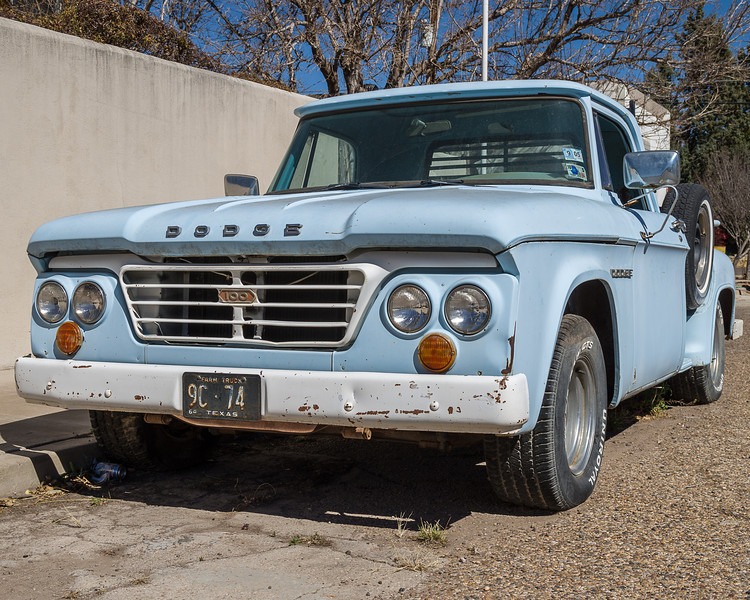 Old Truck, Marfa, Texas