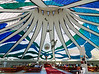 Inside the Metropolitan Cathedral Brasilia