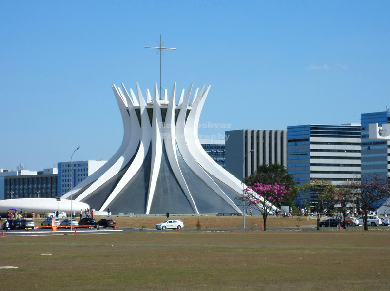 Metropolitan Cathedral in Brasilia
