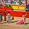 Iván Fandiño Walks the Ring with the Bull's Ear and a Rose