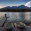 Patricia Lake, Jasper National Park, Alberta