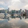 Vancouver from Stanley Park, British Columbia