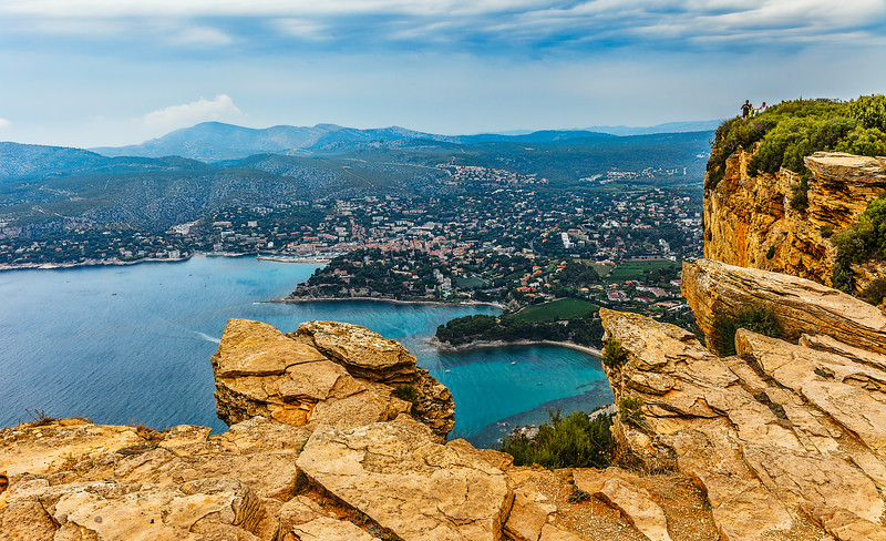 Cassis from the impressive cliff top of Cap Canaille