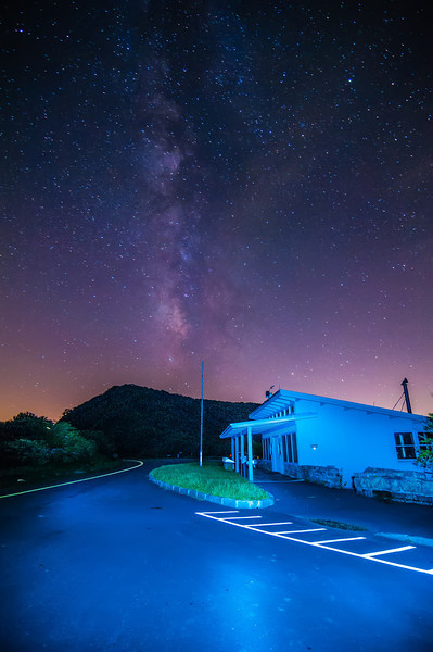blue ridge parkway night scenes