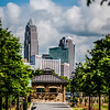charlotte north carolina view from greenway