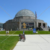 The Adler Planetarium building in Chicago, Illinois.