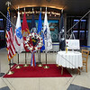 Chicago Airport's dedication to members of US Armed Forces POWs and MIAs.