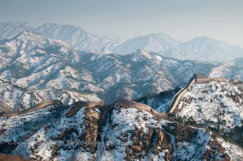 The Great Wall at Badaling.