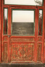Red door at the Summer Palace.