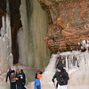 We visited the ice caves along the shore of Lake Superior near Cornucopia, Wisconsin and the Apostle Islands on 9 March 2014.