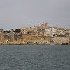 entering the harbor of Malta