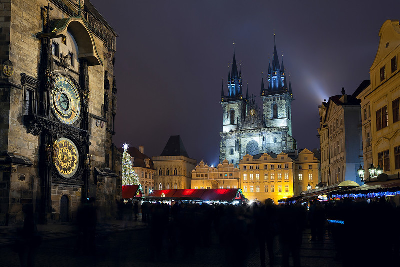 Old Town Square, Prague.
