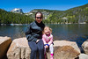 Lisa and Mia at Bear Lake - 2014-06-09