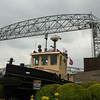 Duluth Aerial Lift Bridge & Army Corps of Engineers Tug