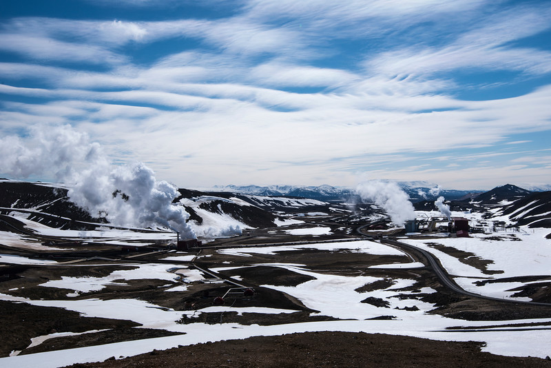 Krafla Geothermal Power