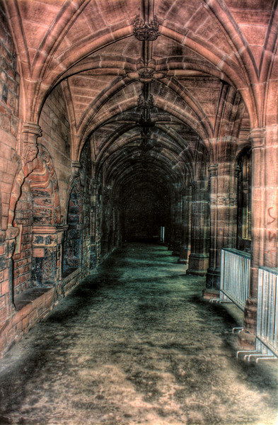 Corridor<br /> Chester cathedral<br /> England - Jul 1996