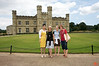 Rosa, Sandy, Crystal and Dee Dee in front of Leeds Castle. IMG_4427