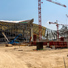 Marseille, France, Construction Site, Velodrome Stadium, South of France