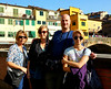Lina, Dakota, Ted and Tina in Florence