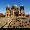 Germany - Berlin - Berlin Cathedral - Berliner Dom -  Evangelical Oberpfarr- und Domkirche - Supreme Parish & Collegiate Church - Literally Supreme Parish & Cathedral Church<br /> <br /> Camera Model: Canon EOS 5D Mark II; Lens: 17.00 - 40.00 mm; Focal length: 17.00 mm; Aperture: 11; Exposure time: 1/125 s; ISO: 100
