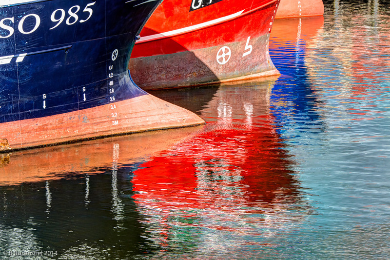 Reflections Killybegs, County Donegal, Ireland, 2013