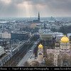 Europe - Latvia - Riga - Rīga - Capital and largest city of Latvia - Riga's historical centre - UNESCO World Heritage Site - Russian Orthodox Cathedral of the Birth of Christ