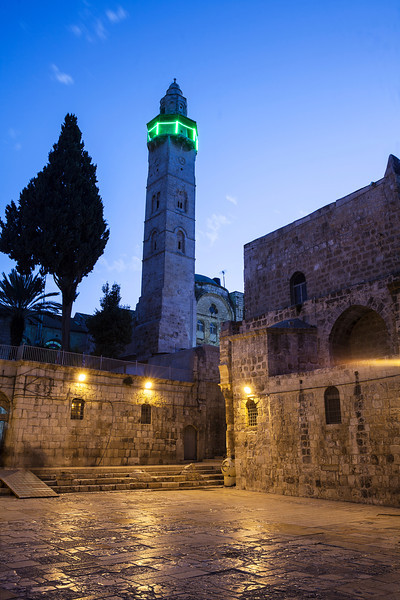 Minaret At Night