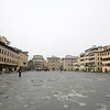 It was really foggy when I visited Florence, Italy, in December 2013.
