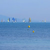 Sailboats on French Rivera