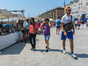 Marseille, France, Tourists Visiting Vieux Port area, Street Scenes,