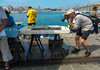 Marseille, France, Tourists Visiting Vieux Port area, Street Scenes, Fish Market